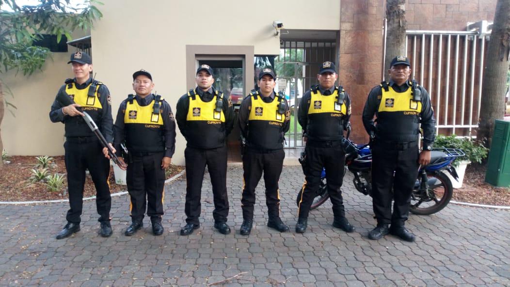 agentes de seguridad